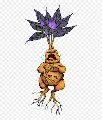 Stickers Mandrake Clipart 5535452 Pinclipart