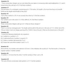 one variable word problems class 8 cbse