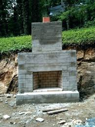 how to build a outdoor fireplace