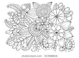 Doodle Flowers Flower Coloring Sheets Flower Coloring Pages