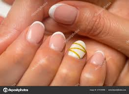 Cute Pink Gel Nails French Manicure And Nail Gel Polish Young