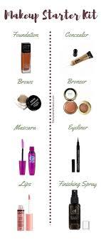 beginners makeup makeup starter kit