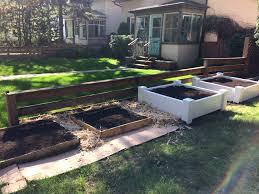 vegetable garden in your backyard