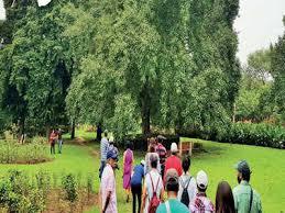 at buddha jayanti park a walk to