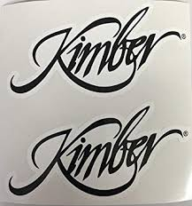 Amazon Com 2 Kimber Firearms Armory Die Cut Decals Automotive
