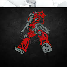 Gundam Char Zaku Vinyl Decal Sticker Anime Mecha Car Laptop Pc Tower Decor 16 00 Picclick