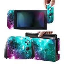 Protective Skins Stickers Cover For Nintendo Switch Console And Gray Red Blue Joy Con Vinyl D Nintendo Switch Accessories Nintendo Switch Nintendo Switch Case