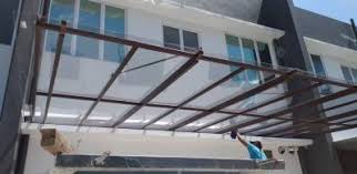 glass roof polycarbonate roof