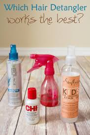best hair detangler homemade for elle
