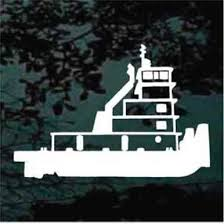 Tow Boat Decals Decal Junky Stick Em Up