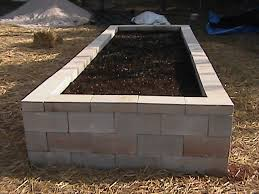 cinder block raised bed i want to do