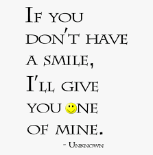 give your smile quotes transparent cartoon cliparts