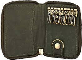genuine leather key holder key pouch