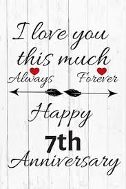 always forever happy 7th anniversary