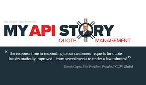 my api story quote management api tm forum inform