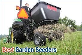 chapin 8701b garden push seeder with 6