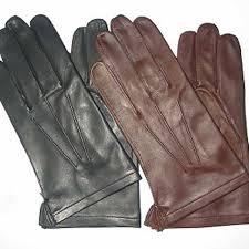 dress fashion mens leather gloves