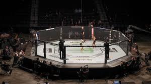 UFC 249 ushers in fan-free, mask-filled ...