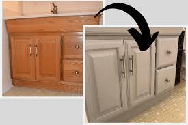 how to paint a bathroom vanity love