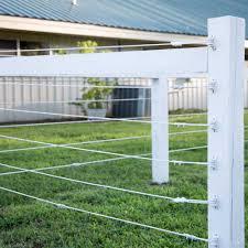 Pro Tek Electric Rope Horse Fence Ramm Horse Fencing Stalls