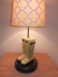Night Light Kids Room Lamp Yellow Boot Lamp Etsy
