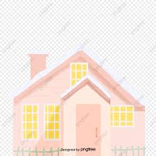 Pink Building House Fence Pink Architecture Houses Png Transparent Clipart Image And Psd File For Free Download