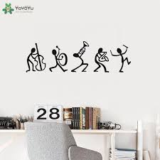 Yoyoyu Wall Decal Music Stick Creative Vinyl Wall Stickers Livingroom Art Decoration Recording Studio Symbol Interior Decorcy265 Wall Stickers Aliexpress