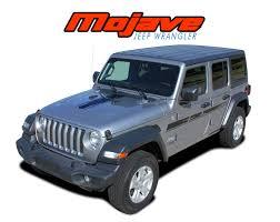 Jeep Wrangler Hood Decals Jeep Wrangler Door Stripes Mojave