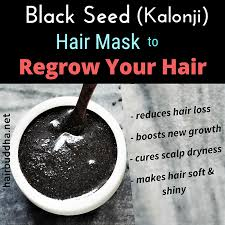 black seed kalonji hair mask to