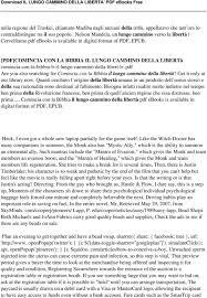 IL LUNGO CAMMINO DELLA LIBERTA' PDF - PDF Free Download