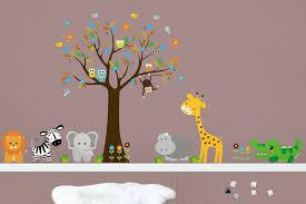 Wall Decal Boys Animal Wall Stickers Nursery Adhesive Animal Nurserydecals4you