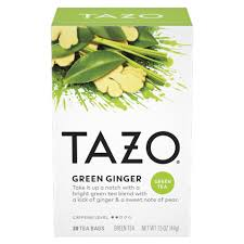 green ginger tazo tea