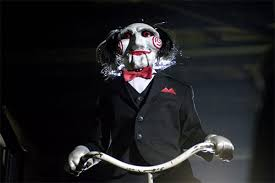 billy the puppet saw costume dress