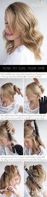 hair to create soft loose waves