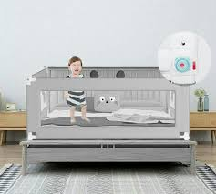 Baby Safety Bed Guard Anti Fall Bed Fence Pagar Katil Queen Size Bed Babies Kids Others On Carousell