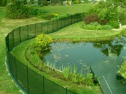 Removable Pool Fence W Transparent Mesh Protect A Child Pool Fence Ponds Backyard Modern Pond