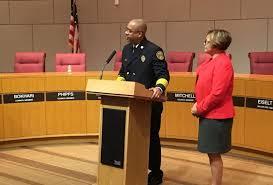 Charlotte Swears In New Fire Chief Reginald Johnson | WFAE