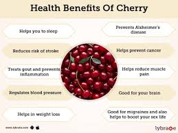 cherry benefits and its side effects