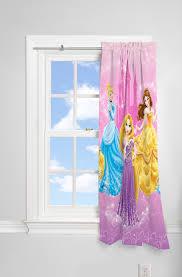 Disney Princesses Kids Lights Off Room Darkening Curtain Panel 63 Inch L Walmart Com Walmart Com