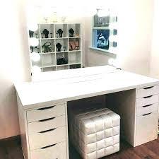 modern vanity set medium size of table