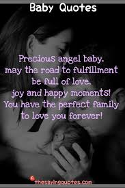 inspirational baby quotes and sayings for a new baby girl or