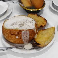 New England Clam Chowder Bread Bowl ...