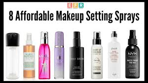 8 affordable makeup setting sprays