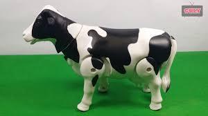 Con Bò Sữa đi bằng 3 chân dễ thương - đồ chơi trẻ em cow toy for ...