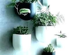 wall mounted hanging planter basket
