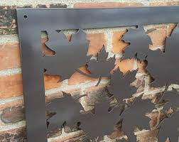 Metal Fence Panel Etsy