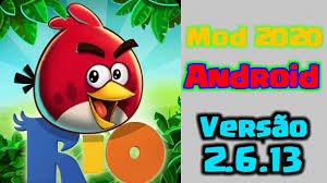 Apk Mod- Angry Bird Rio- (Mod 2.6.13) Tudo infinito - YouTube