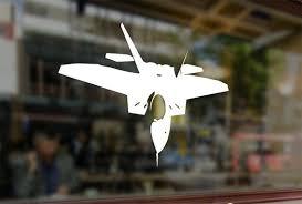 F22 Raptor Tatitical Fighter Aircraft F 22 Jet Vinyl Stickers Etsy