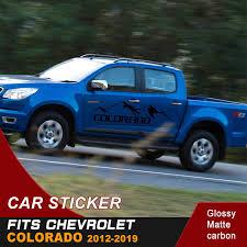 Car Decals 1 Piece Side Door Mountain Graphics Vinyl Car Sticker Fit For Chevrolet Horton Colorado 2012 2015 2016 2017 2018 2019 Car Stickers Aliexpress