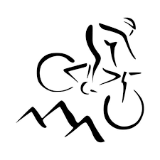 Mountain Biking Bike Trek Schwin Vinyl Decal Sticker